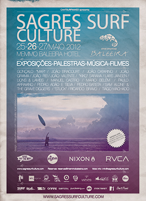 Cartaz Sagres Surf Culture 2012