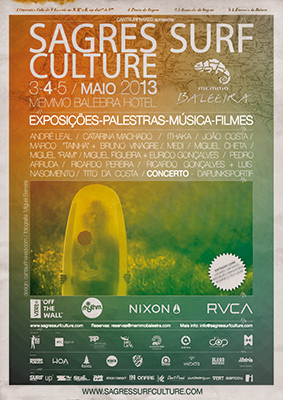 Cartaz Sagres Surf Culture 2013