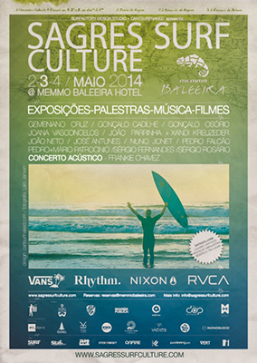 Cartaz Sagres Surf Culture 2014